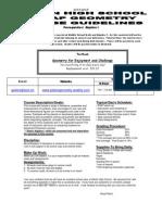 course guidelines algebra ii 14-15