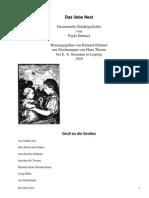 Das liebe Nest by Dehmel, Paula, 1862-1918