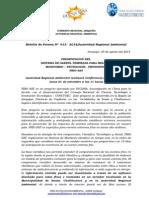 BOLETIN DE PRENSA 013 -2014 - Sistema de Alerta Temprana para heladas.doc