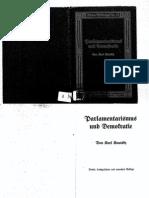 Karl Kautsky, Parlamentarismus und Demokratie I