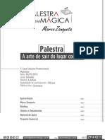 Marco Zanqueta - Palestra Com Mágica