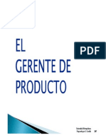 Gerente de Producto