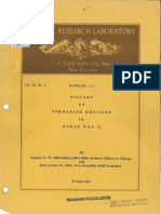 Submarine Medicine in World War II