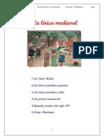 Lírica Medieval. Tema 12
