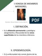 Patología Venosa de Miembros Inferiores.