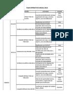 Matriz de Compromisos de Socios CPDE 2014