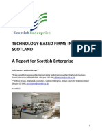 Mason, Colin & Brown, Ross (2012) Technology-based firms in Scotland, a report for Scottish Enterprise