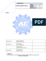 PT OP 03-IT5 Extracci+n de muestra Seca