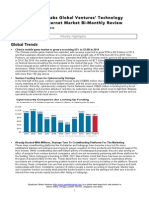 SparkLabs Global Ventures' Technology and Internet Market Bi-Monthly Review 0813 2014