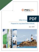 PSEG-LI Utility 2.0 Long Range Plan