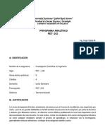 Programa Analitico Pet-242