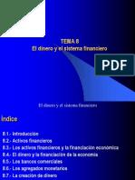 Tema_8. El Dinero y El Sistema Financiero