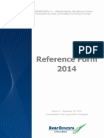 2014 Reference Form - Version 2