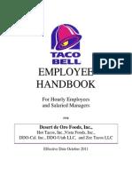 Ddo-Employee Handbook English