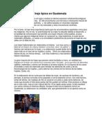 Importancia Del Traje Típico en Guatemala