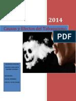 Investigacion Del Tabaco