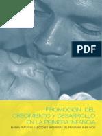 Promoción Del Crecimiento y Desarrollo en La Primera Infancia - UNICEF