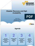 Amazon Web Services - Disaster Recovery