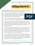 Adverb14 Identify Adverbs III
