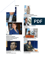 Presidente y Vicepresiente de Guatemala