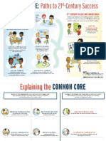 commoncoreposter and evidence sheet