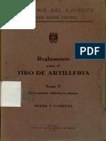 Reglamento Para El Tiro de Artilleria_t5_contra Objetivos Aereos_1956_bibliotecavirtual Andalucia