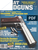 Combat Handguns, June 83 - The Galil