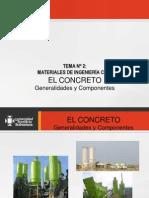 Upb 2 Concreto Componentes Funciones