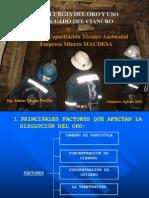 t121 Icm Mdsa b Metalurgia Oro Cianuro