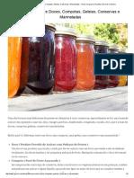 Diferença entre Doces, Compotas, Geleias, Conservas e Marmeladas - Dicas no Iguaria, Receita e Dica de Culinária.pdf