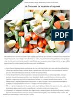 Tempos de Cozedura de Vegetais e Legumes - Dicas no Iguaria, Receita e Dica de Culinária.pdf