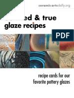 33 Tried and True Glaze Recipes