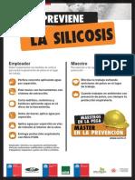 Afiche Silice Sector Construccion