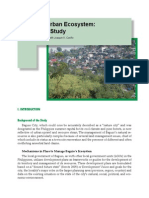 Baguio's Urban Ecosystem
