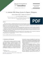 A Landslide Risk Rating System for Baguio, Philippines