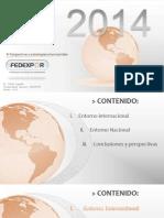 Presentacion Perspectivas 2014 FEDEXPOR