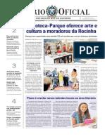 Inauguração Biblioteca Parque Da Rocinha DO 050612