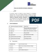 Informe Final de Gestión en Medio Ambiente