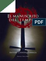 El Manuscrito Del Templo - Antonio Carrere