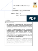 AUC-1306 Redes de Comunicacion Industrial