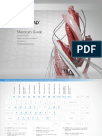 AutoCAD Shortcuts 11x8.5 MECH-REV