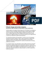 Climate Change and Nuclear Weapons by Guy Quinlan