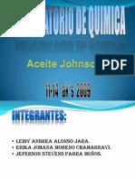 Aceite Johnson's