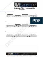 048 Intermediate 16th Note Linear Fills