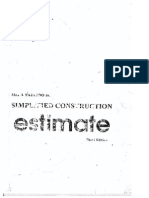 Simplified Construction - Estimate
