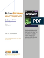 Berklee Remixing Styles