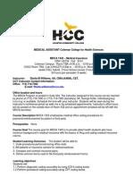 MDCA 1343 syllabus 2012 16 weeks-2014-1