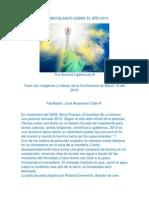 Un Libro Blanco Sobre El Año 2012