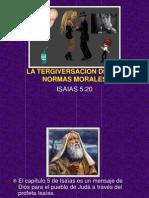 La Tergiversacion de Las Normas Morales, Verso 20