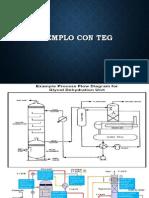 Ejemplo Con Teg, deshidratacion de gas
